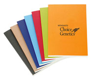 Colored Bound Notebooks
