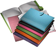 Colored Hardback Notebooks