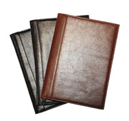 Italian Leather Hardbound Notebooks