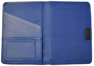 Leather Bound Notebook Blue