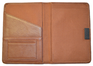 Leather Bound Notebook British Tan
