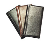 Leather Pocket Covered Notebooks