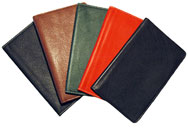Leather Pocket Hardbound Notebooks